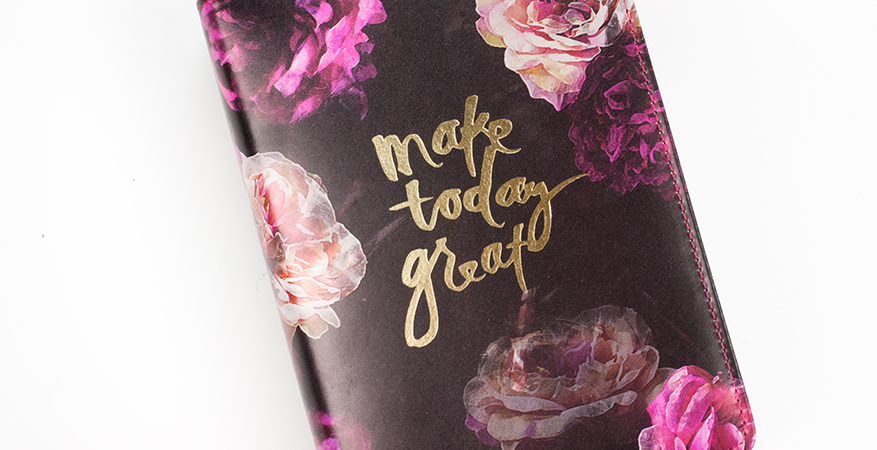 A look inside the brand new Heidi Swapp Personal Size Memory Planner Kit - December 2017 | Maggie Massey for Heidi Swapp