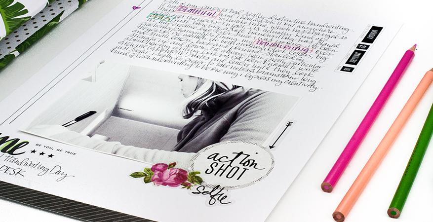 Documenting National Handwriting Day with Heidi Swapp Storyline | Maggie Massey