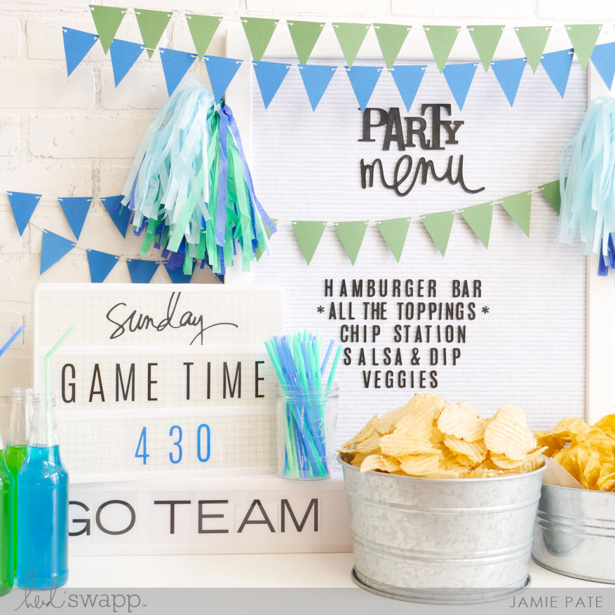 How To Have a Super Party with Heidi Swapp Lightbox by Jamie Pate   @jamiepate for @heidiswapp