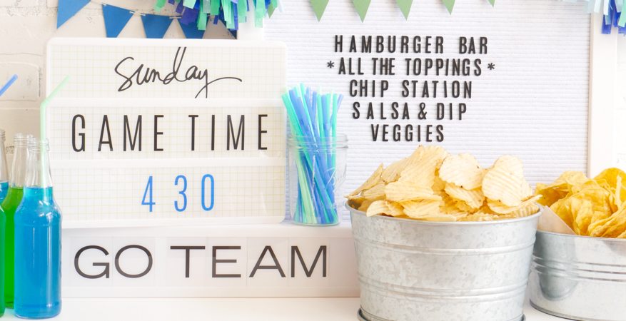 How To Have a Super Party with Heidi Swapp Lightbox by Jamie Pate | @jamiepate for @heidiswapp