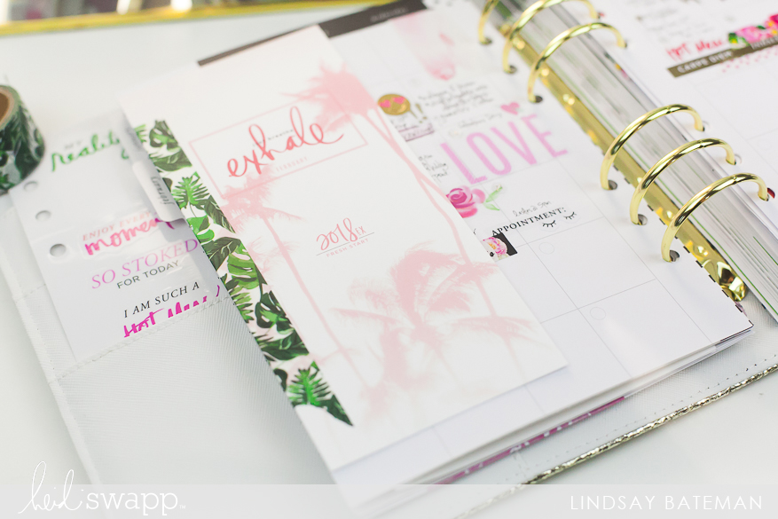 ways to use fresh start washi tape in your memory planner I @lindsaybateman for @heidiswapp
