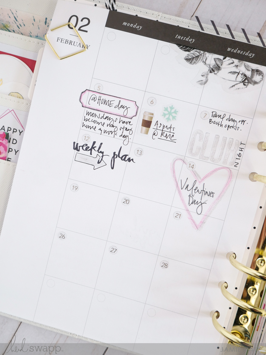 For The Love Of Heidi Swapp Planners and Stamps by Jamie Pate | @jamiepate for @heidiswapp