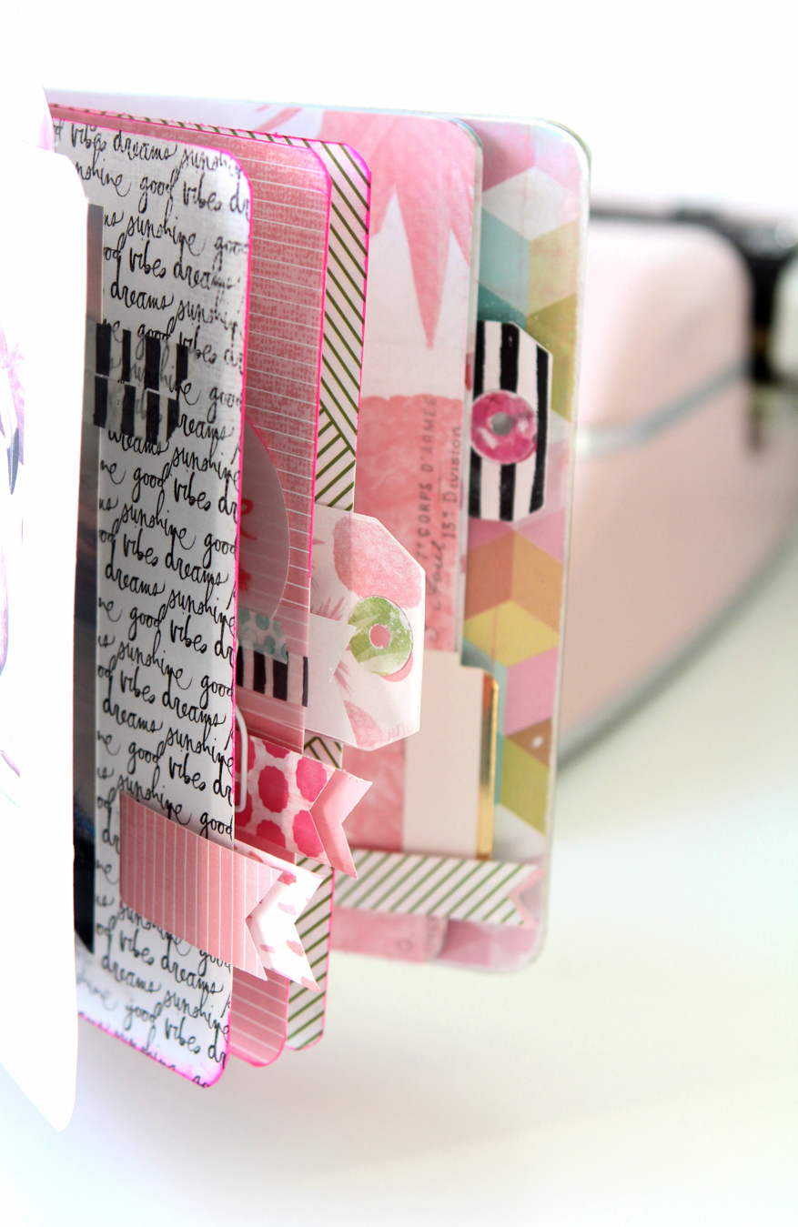 Introducing Pineapple Crush Paper Collection by @heidiswapp