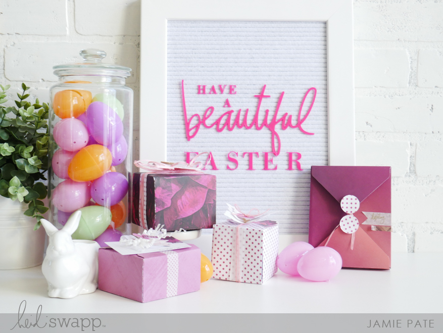 Pretty Ways to Give At Easter with Heidi Swapp Hawthorne Collection by Jamie Pate | @jamiepate for @heidiswapp
