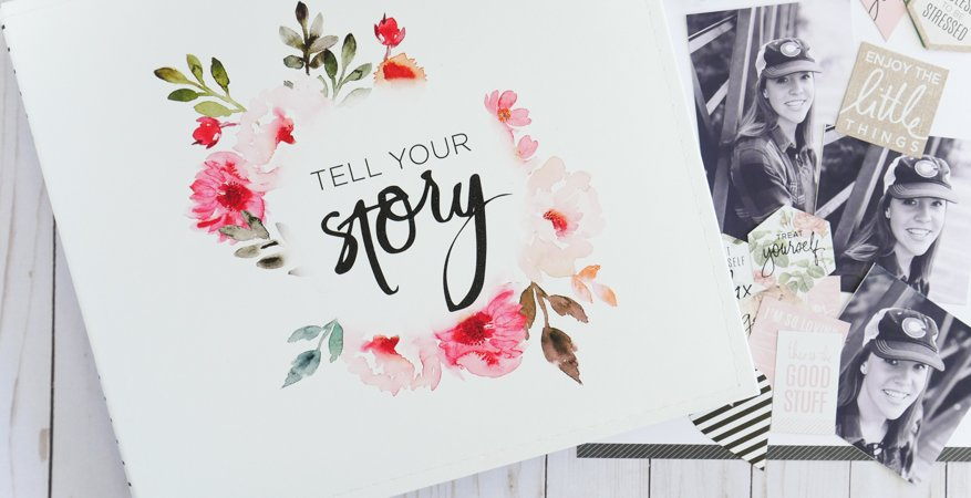 Telling Stories with Heidi Swapp Storyline Collection by Jamie Pate | @jamiepate for @heidiswapp