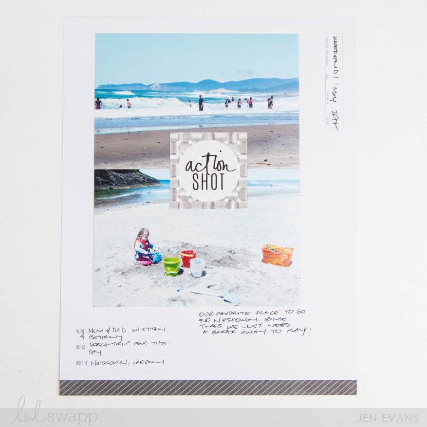 How to decide what photos to use on a scrapbook page by @createoften for @heidiswapp Storyline for @michaelsstores