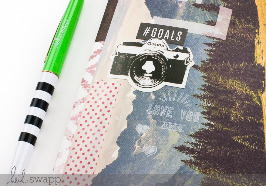DIY Travelers Notebook/Lookbook :: Heidi Swapp Hawthorne | Maggie Massey for Heidi Swapp