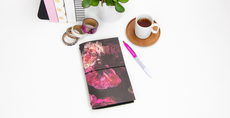 DIY Hawthorne Travel Notebook by @createoften for @heidiswapp