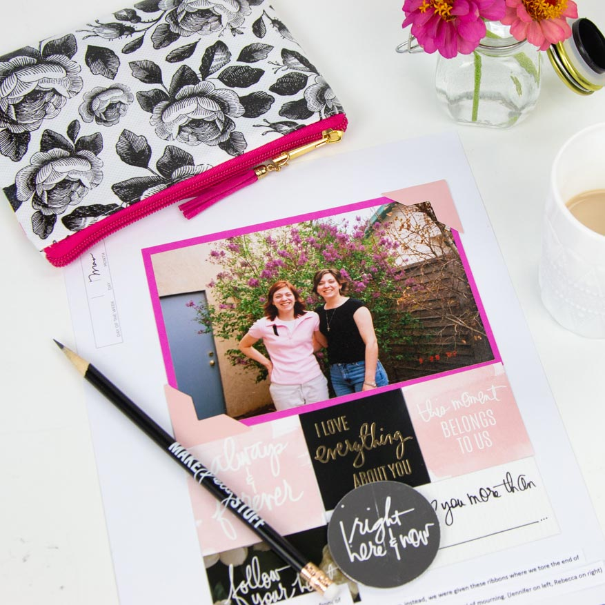 What to do if you have 1 or no photos of a memory? Should you still scrapbook it? by @createoften for @heidiswapp using Heidi Swapp Storyline collection now in Michaels Stores