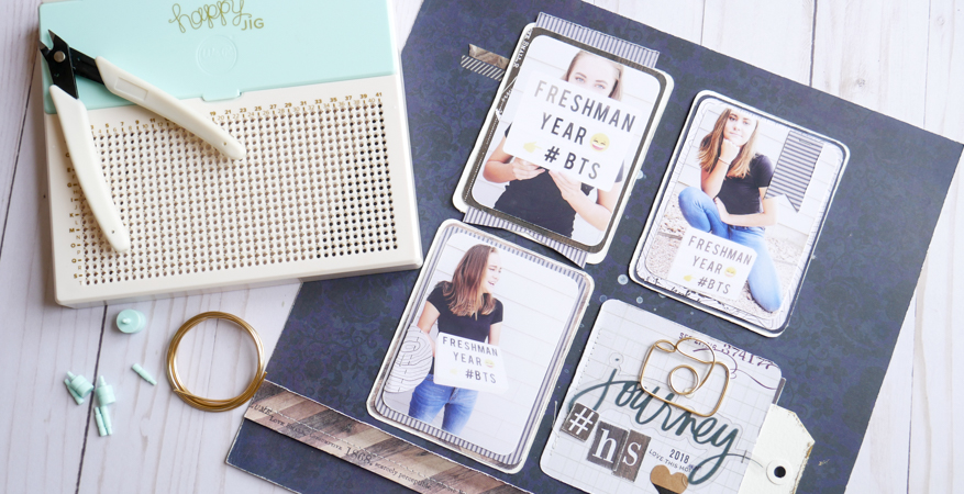 Heidi Swapp Hawthorne and Happy Jig Play Together by Jamie Pate | @jamiepate for @heidiswapp