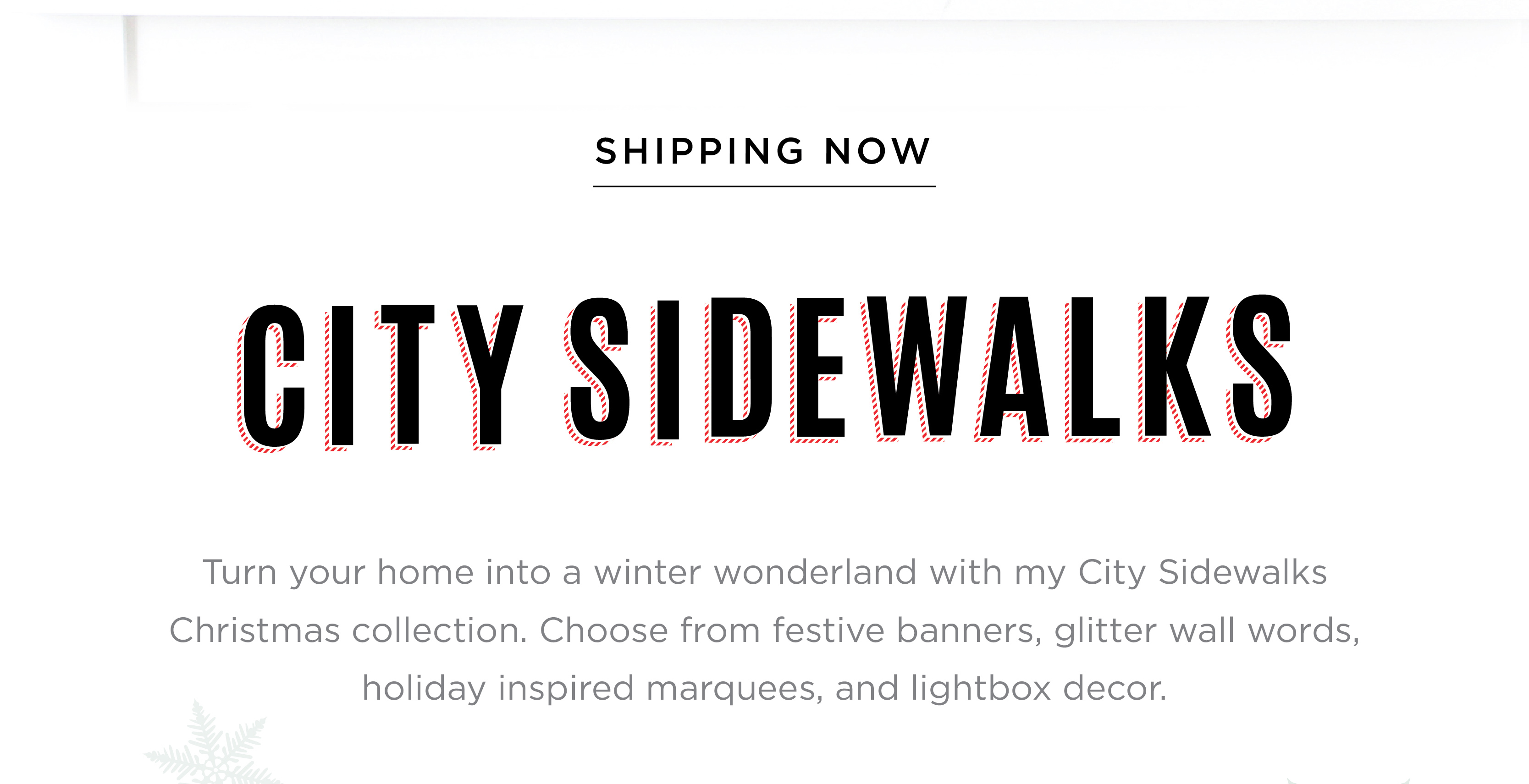 Introducing Heidi Swapp City Sidewalks Christmas 2018 | @heidiswapp
