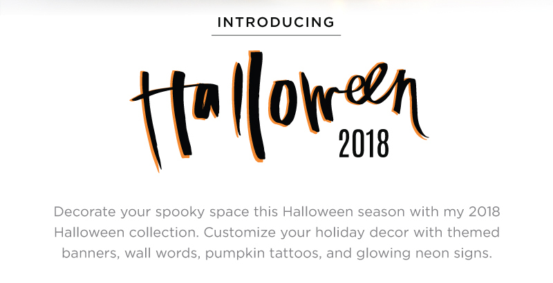 Introducing Heidi Swapp Halloween 2018 | @heidiswapp at Jo-Ann Fabric and Craft Stores