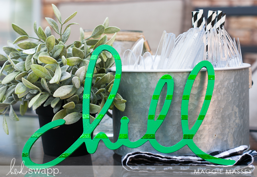 Minc Foil + Wall Words   Foiled Home Decor - Maggie Massey for Heidi Swapp