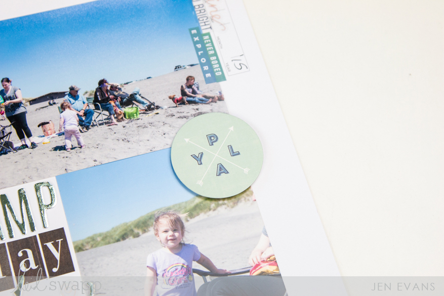 How to capture summer forever on a scrapbook page | Using Heidi Swapp Storyline collection by @createoften for @heidiswapp