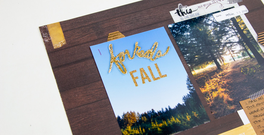 5 Ways to Use Heidi Swapp Foam Word Stickers by @createoften for @heidiswapp