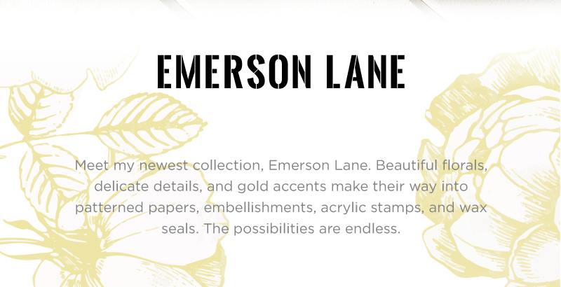 Emerson Lane paper collection by @heidiswapp