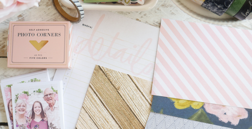 Heidi Swapp Emerson Lane Accordian Mini Album by Jamie Pate | @jamiepate for @heidiswapp