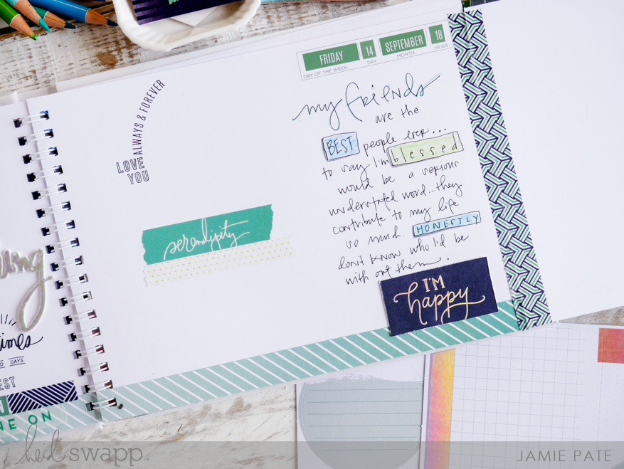 Heidi Swapp New Adventures Storyline by Jamie Pate | @jamiepate for @heidiswapp
