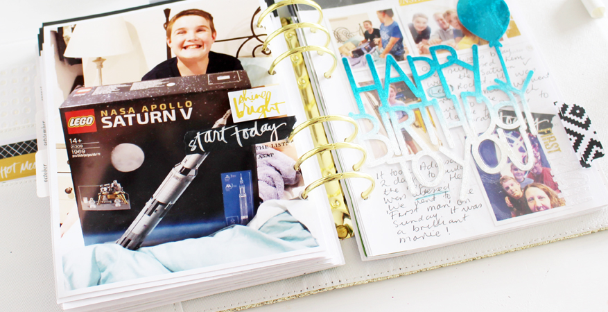 Heidi Swapp Memory Planner and Minc