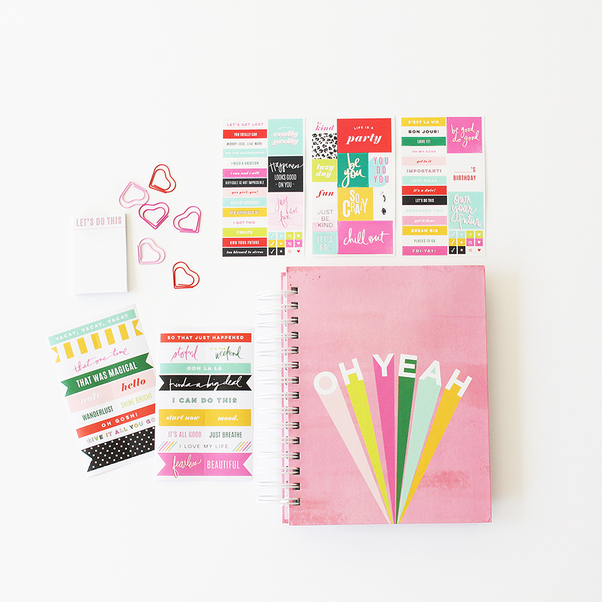 Introducing Heidi Swapp Color Fresh 2019 Memory Planner collection | @heidiswapp