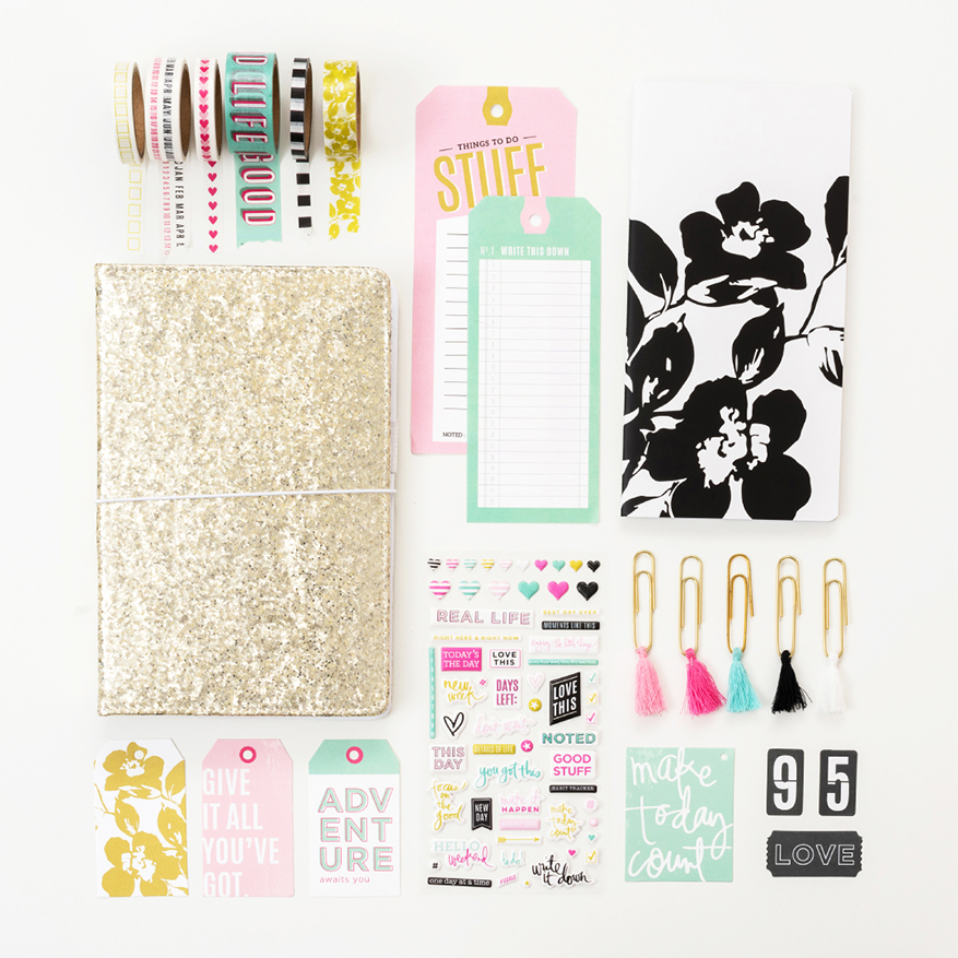 Heidi Swapp Journal Studio collection with American Crafts | 2019 Planner Journal collection @heidiswapp