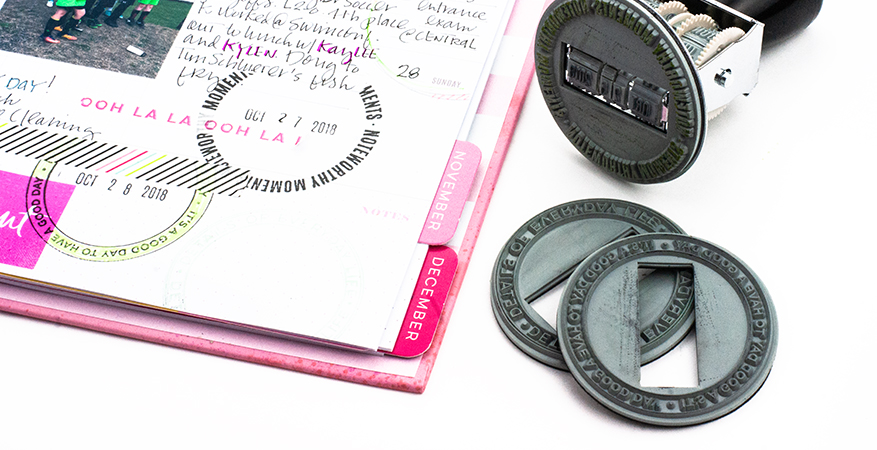 A Look at the New Magnetic Stamp...Heidi Swapp Color Fresh   Maggie Massey for Heidi Swapp