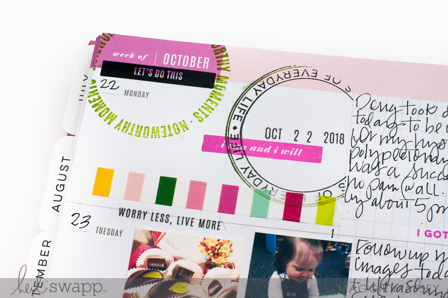A Look at the New Magnetic Stamp...Heidi Swapp Color Fresh | Maggie Massey for Heidi Swapp