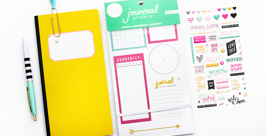 Heidi Swapp - American Crafts Journal Studio :: Bullet Journal Weekly Set-Up | Maggie Massey for Heidi Swapp