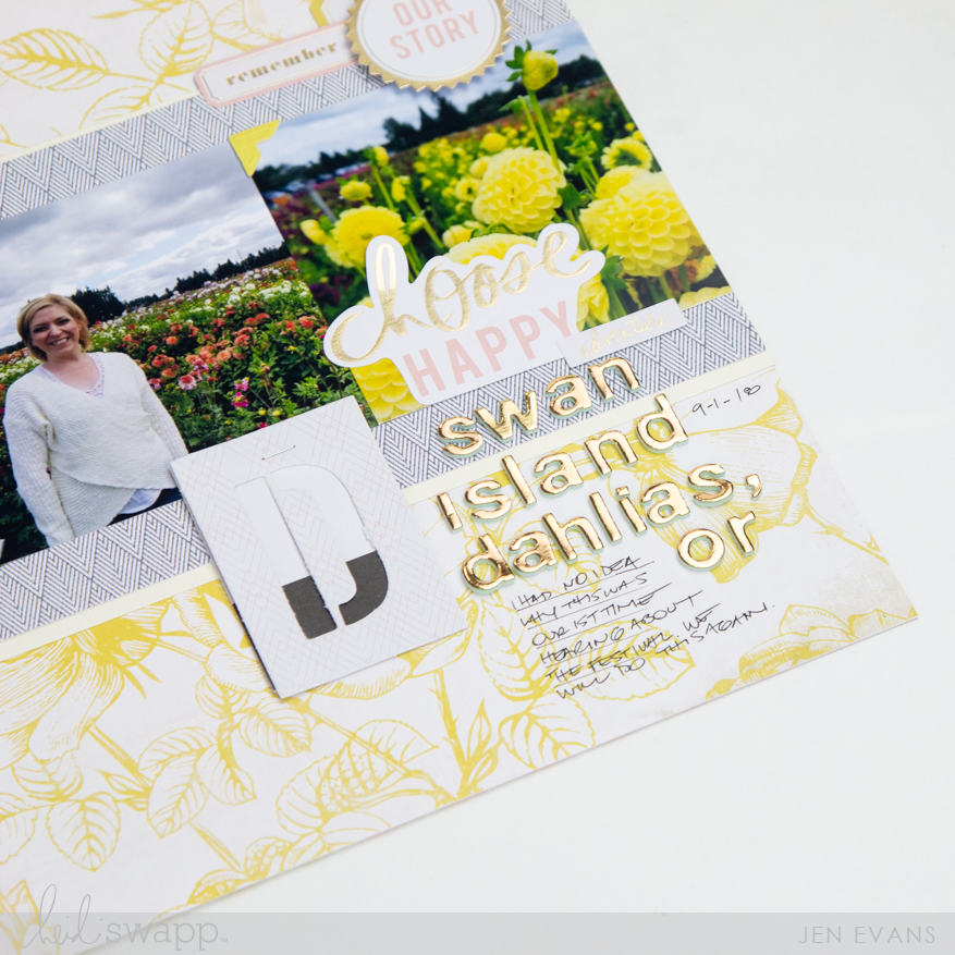 Heidi Swapp Emerson Lane collection   Ephemera vs Stickers which do you love more? by @createoften for @heidiswapp