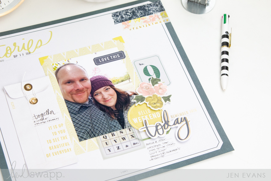 Heidi Swapp Emerson Lane collection | Ephemera vs Stickers which do you love more? by @createoften for @heidiswapp