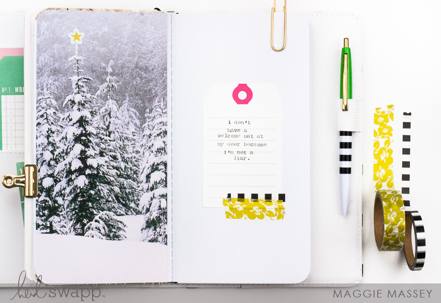 Documenting my favorite quotes with Journal Studio | Maggie Massey for Heidi Swapp