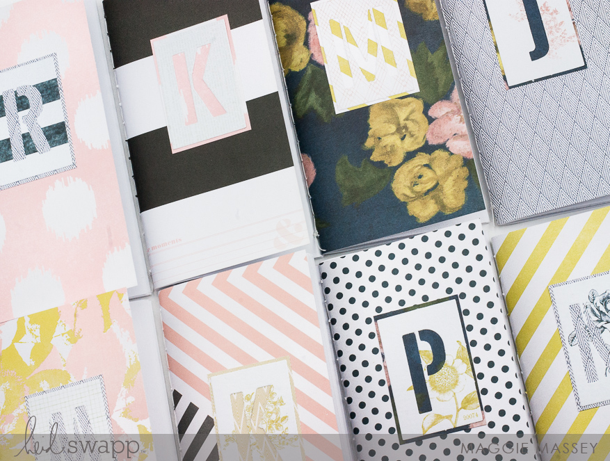 DIY Journals :: Heidi Swapp Emerson Lane + WeR Memory Keepers Bookbinding Guide | Maggie Massey for Heidi Swapp