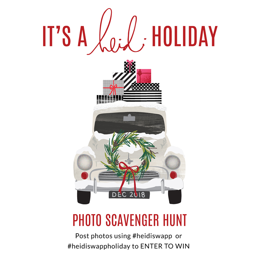 It's a Heidi Holiday Social Media Event | 2018