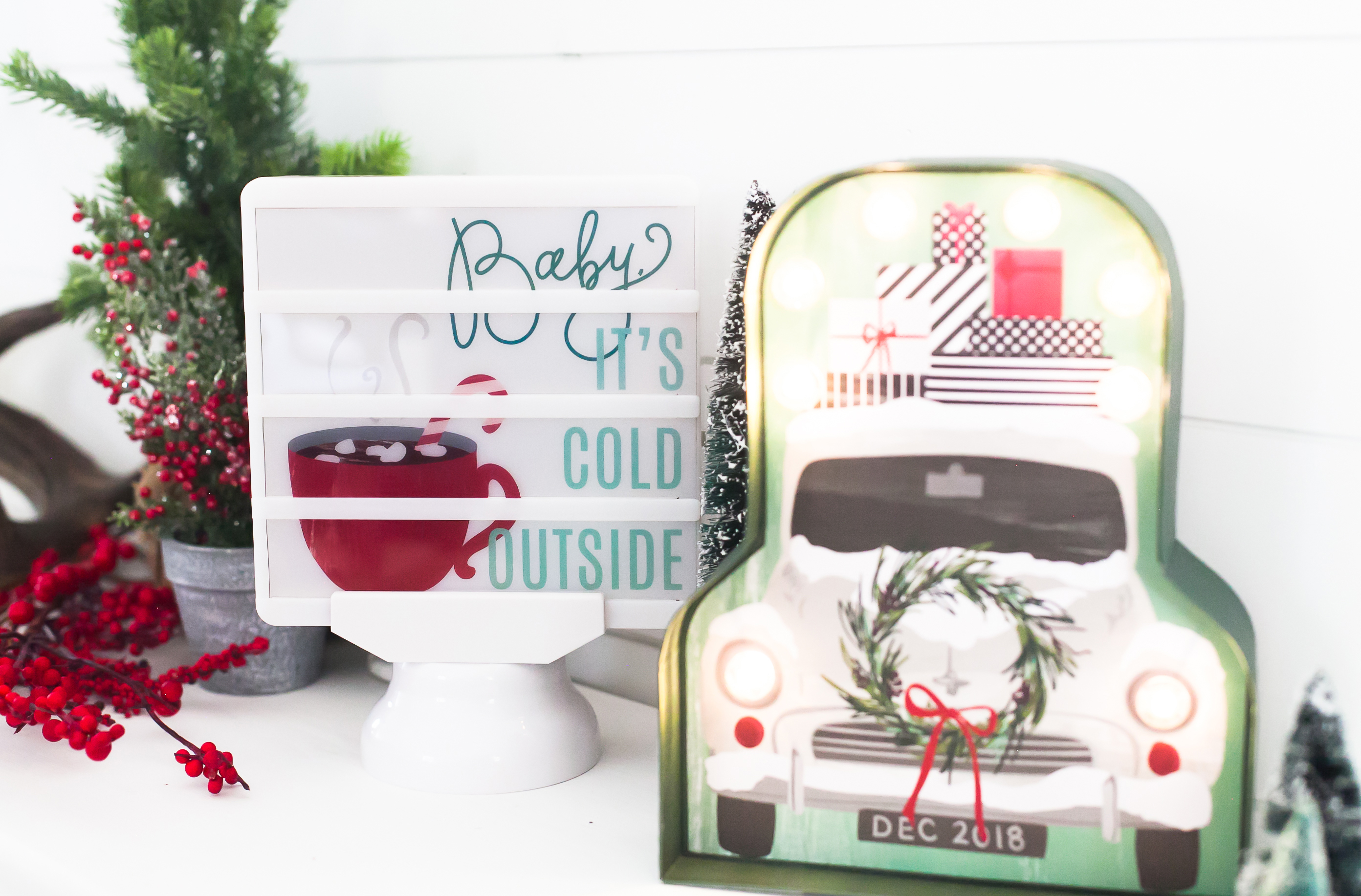 Heidi Holiday Lightbox by Jamie Pate | @jamiepate for @heidiswapp