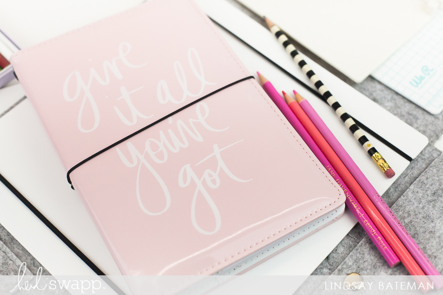 reflection tracer and journal studio how to I @lindsaybateman for @heidiswapp