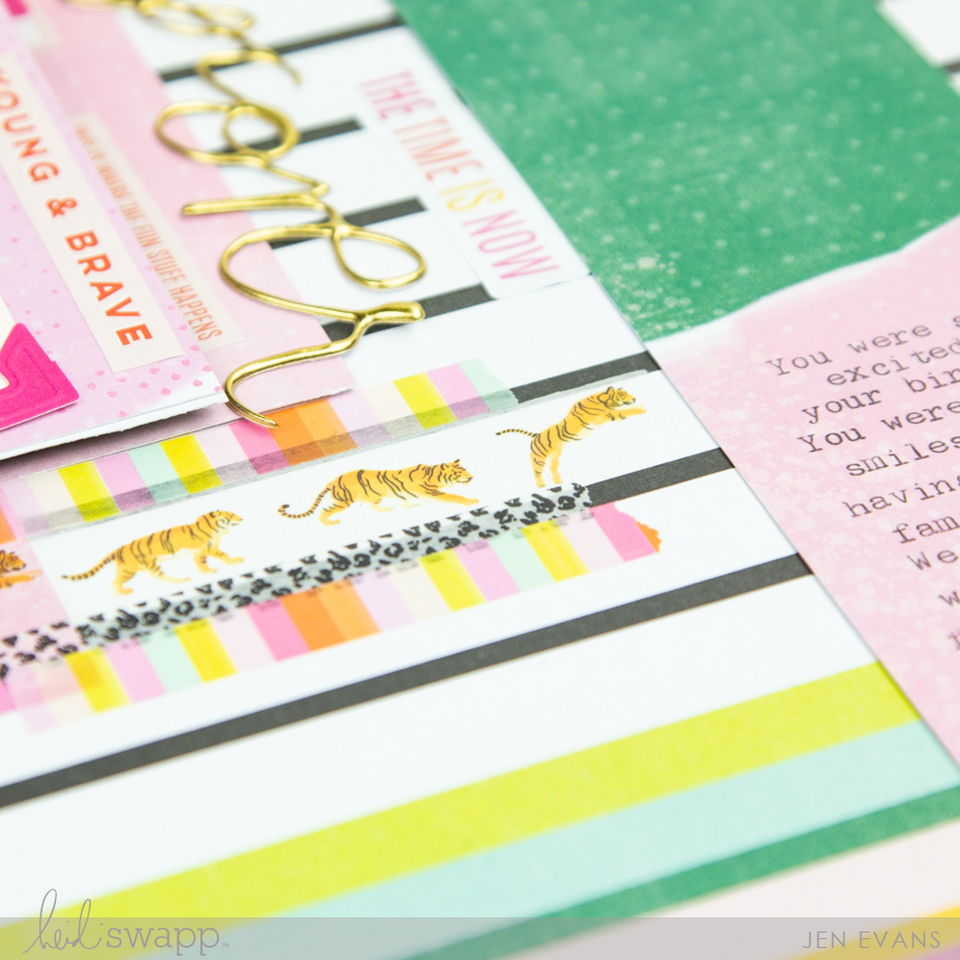Color Fresh Paperline Layout by @createoften for @heidiswapp