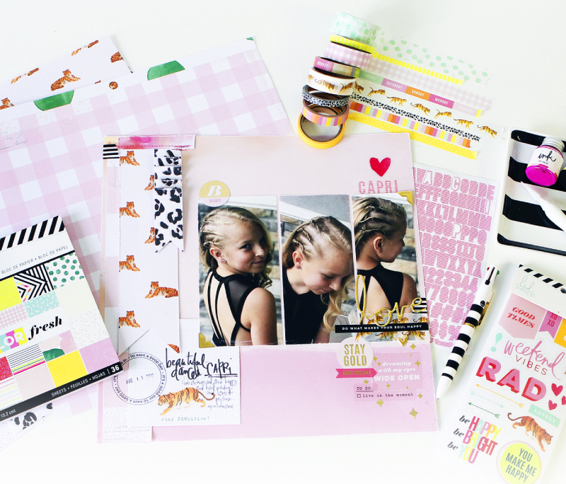 Introducing Color Fresh Paperline by @heidiswapp