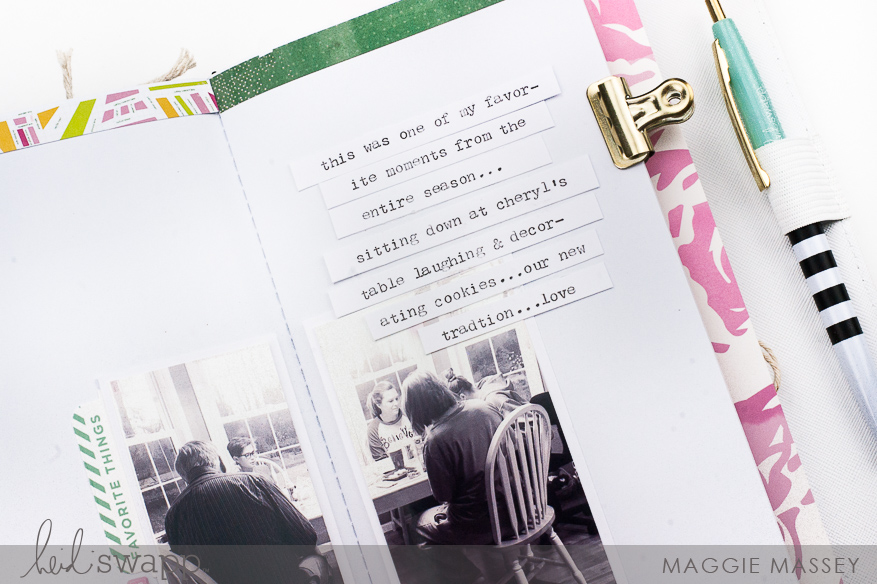 5 ways to create spreads in your journal | Journal Studio | Maggie Massey for Heidi Swapp