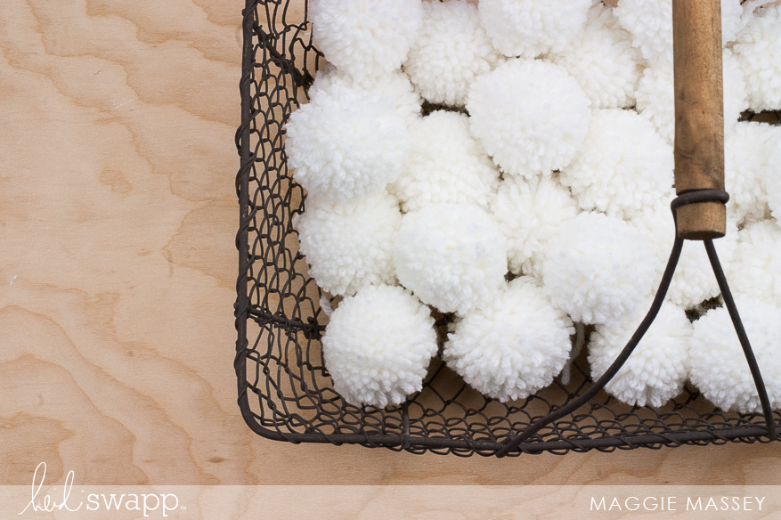 Handmade by Heidi :: Pom Pom Kit | Maggie Massey for Heidi Swapp