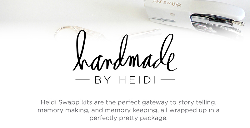 Introducing NEW @heidswapp Handmade by Heidi kit collection