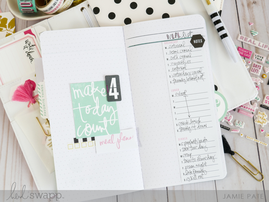 Heidi Swapp Journal Studio Lists Book by Jamie Pate @jamipate for @heidiswapp