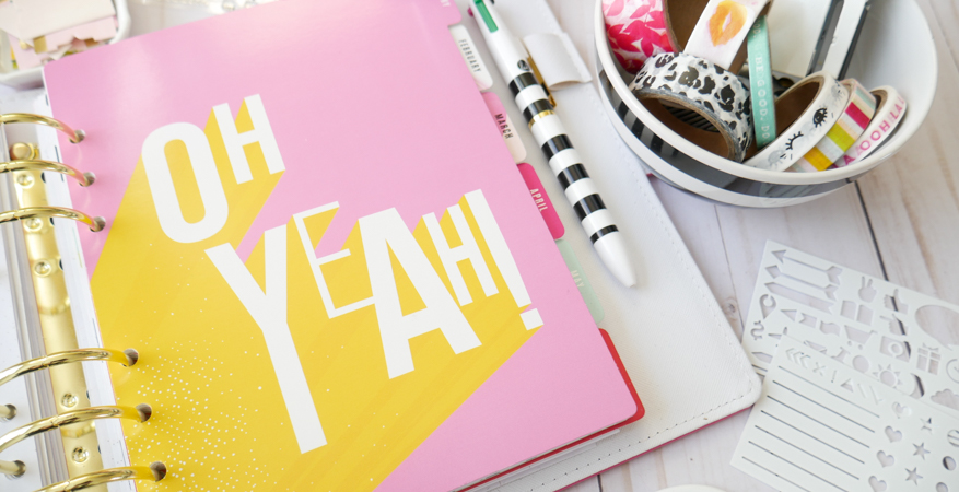 Heidi Swapp Color Fresh Planner In the New Year by Jamie Pate | @jamiepate for @heidiswapp