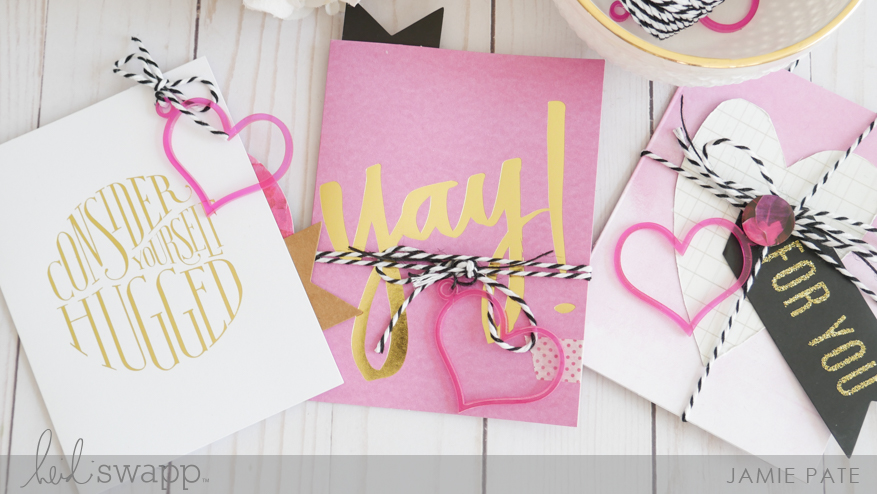 Send a Handmade By Heidi Swapp Card Day by Jamie Pate | @jamiepate for @heidiswapp