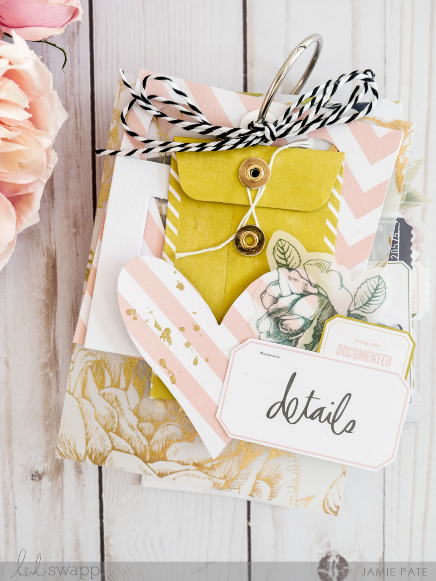 How To Create a Tag Book With Heidi Swapp Emerson Lane by Jamie Pate | @jamiepate @heidiswapp
