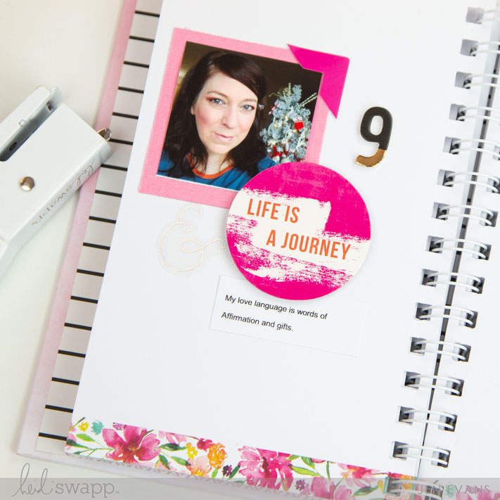 Love Your Selfie Mini Album by @createoften for @heidiswapp