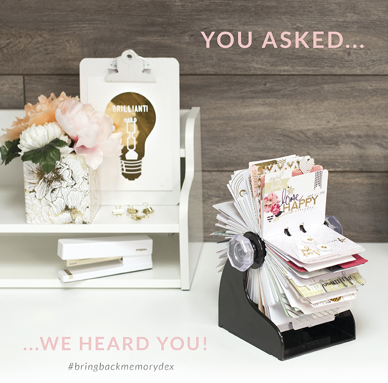 The @heidiswapp MemoryDex is back!