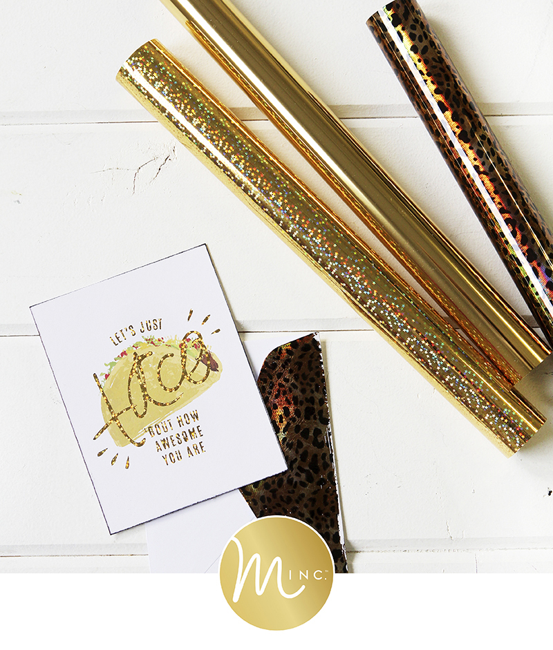 Introducing Minc 5 products by @heidiswapp