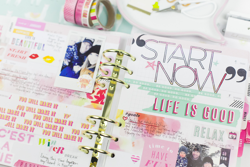 color fresh memory planner I @lindsaybateman for @heidiswapp