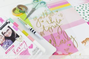 color fresh paper collection I @lindsaybateman for @heidiswapp