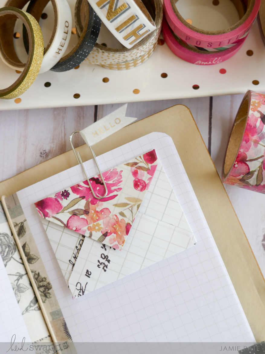 Five Ideas For Heidi Swapp Washi Tape by Jamie Pate | @jamiepate for @heidiswapp